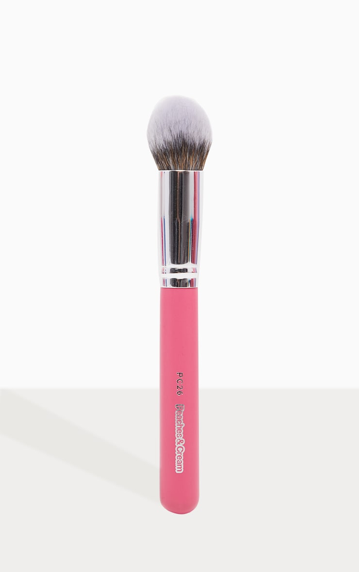 Peaches & Cream PC26 Domed Foundation Brush image 1
