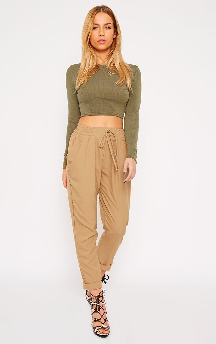 Hilda Camel Trousers 6