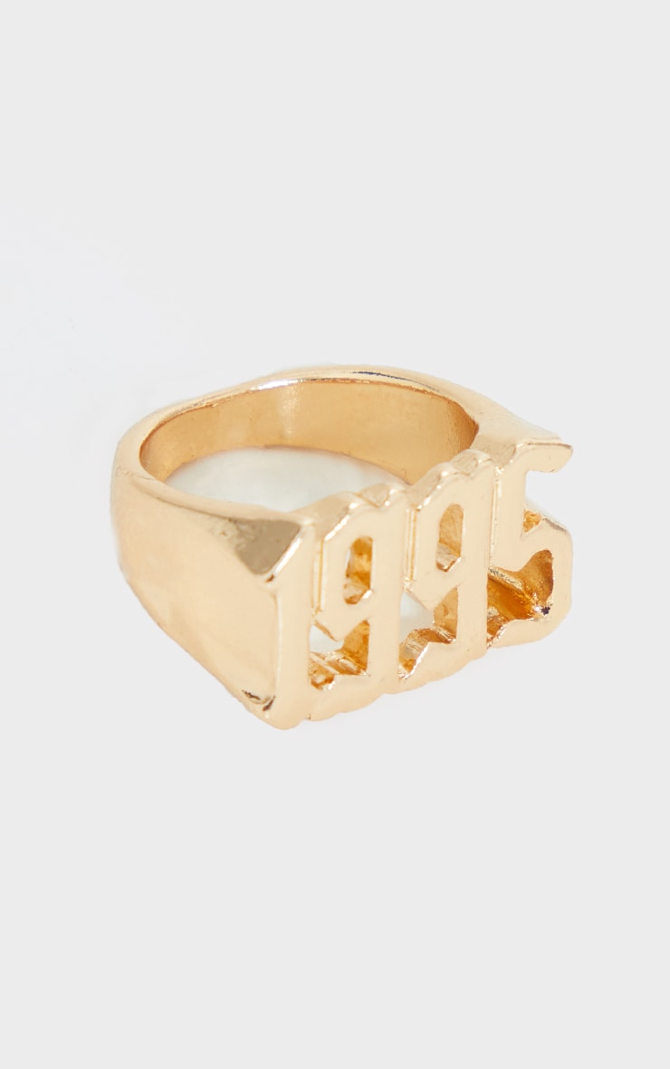 1995 Gothic Font Ring 3