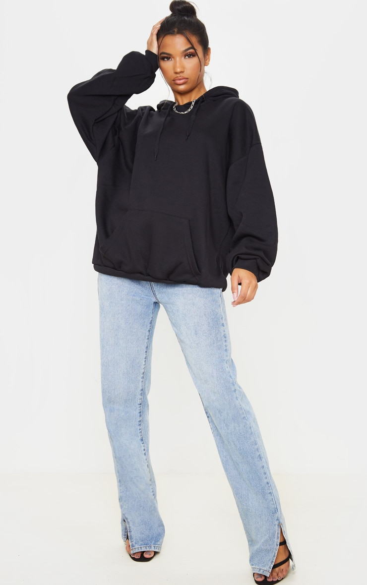 Black Ultimate Oversized Hoodie 4