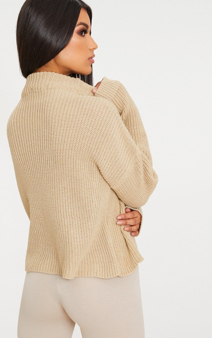 Stone High Neck Jumper 2