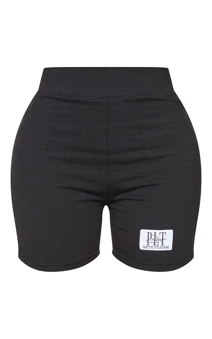 PRETTYLITTLETHING Shape Black High Waist Bike Shorts 6