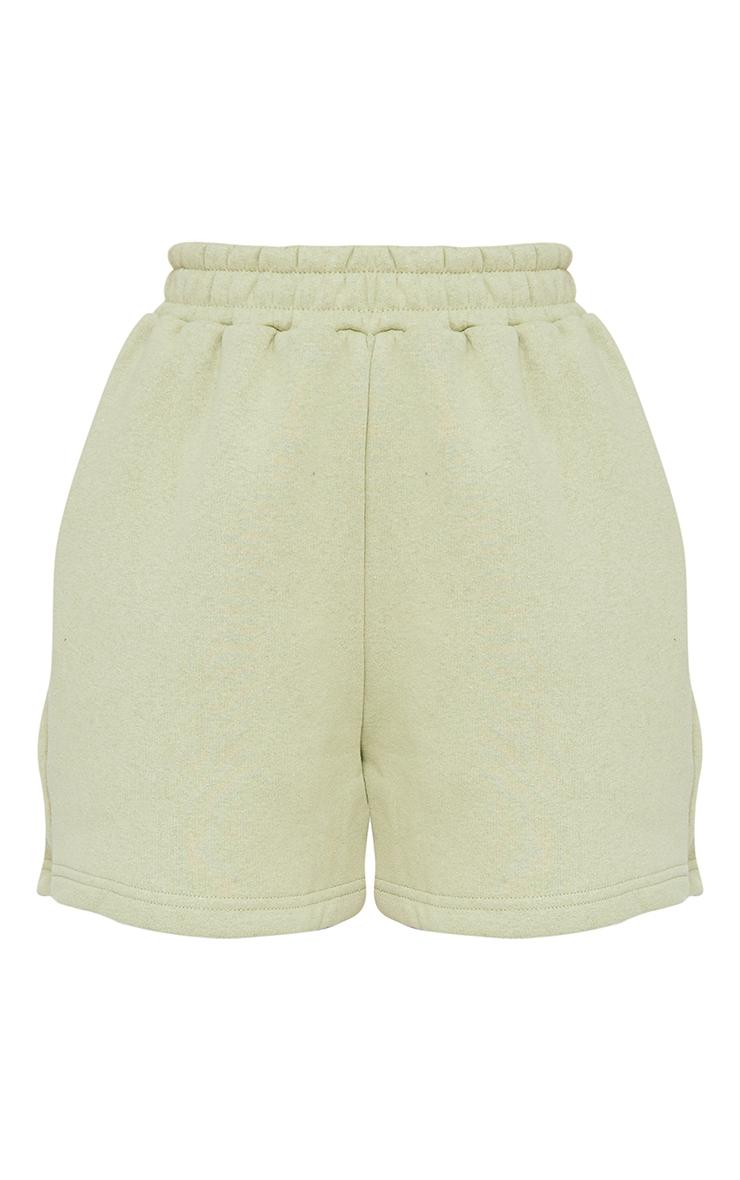Sage Sweat Pocket Shorts 6