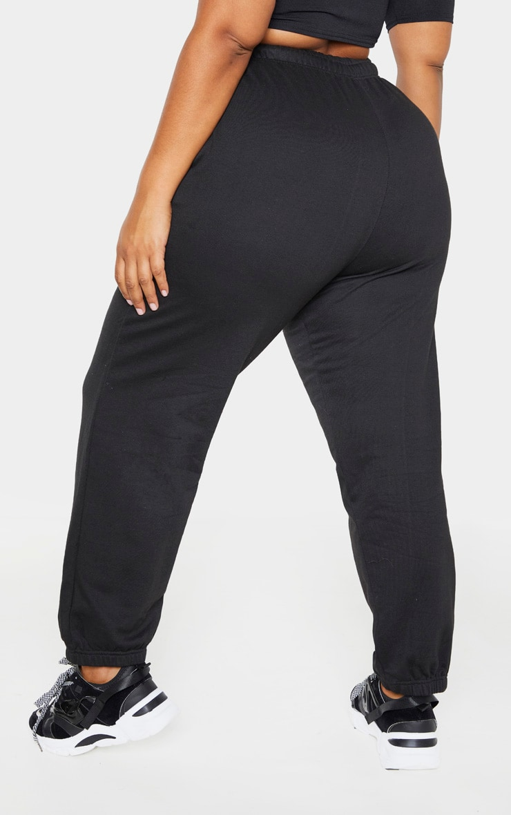 PLT Plus - Pantalon de jogging noir casual 3