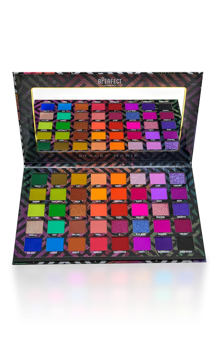 BPerfect Cosmetics x Stacey Marie Carnival III Love Tahiti Eyeshadow Palette 2