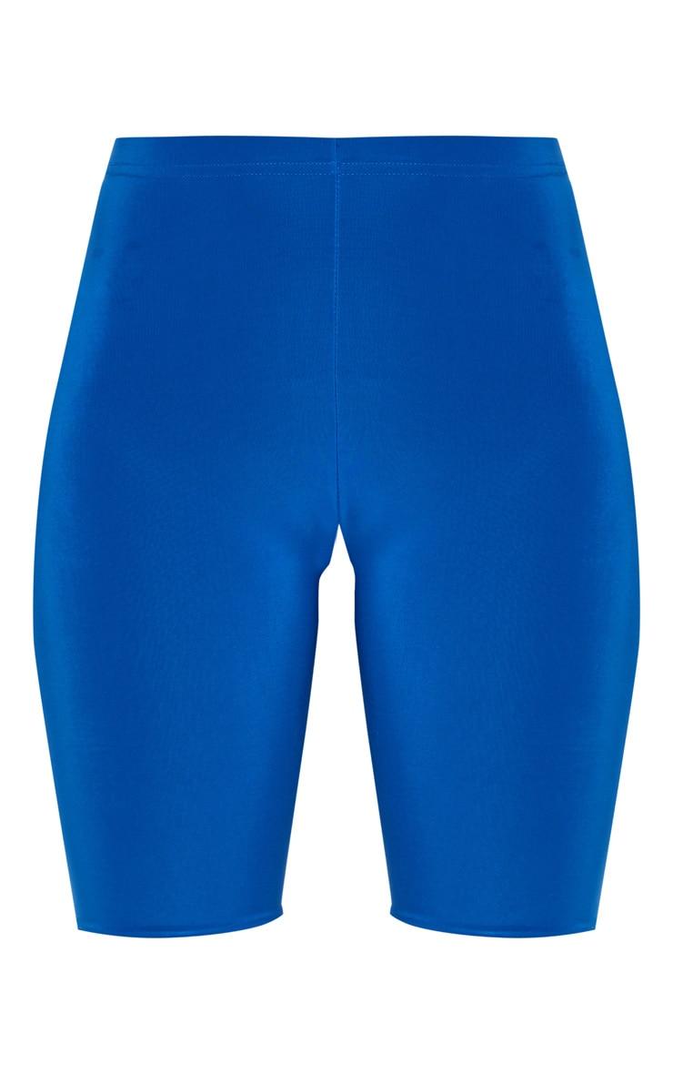 Cobalt Slinky High Waisted Cycle Shorts 6
