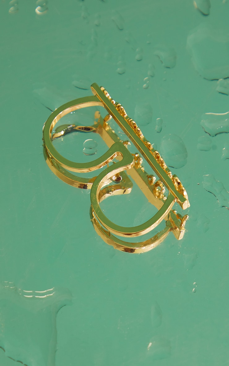 PRETTYLITTLETHING Signature Ring 4