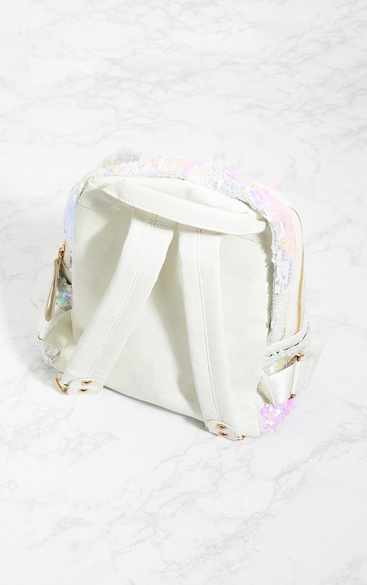 Iridescent Sequin Backpack 3