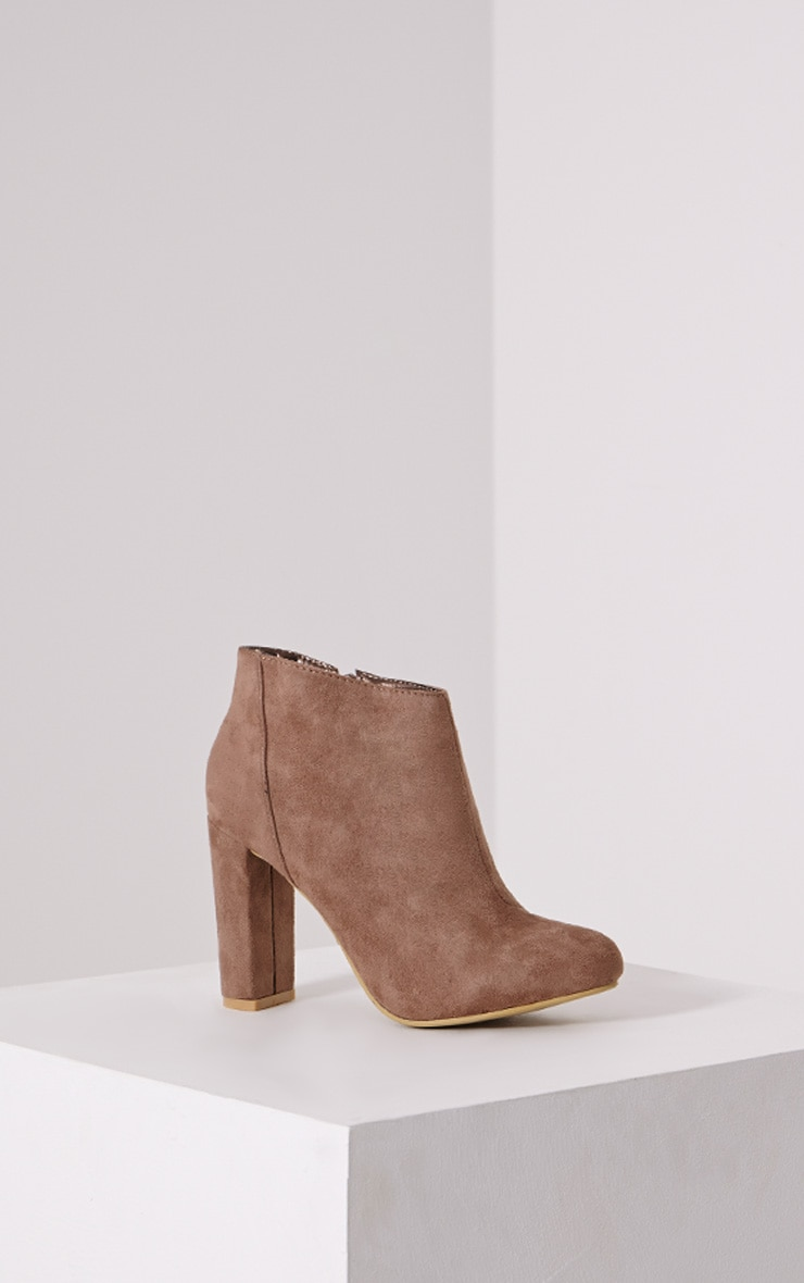 Roux Mocha Suede Ankle Boot 3