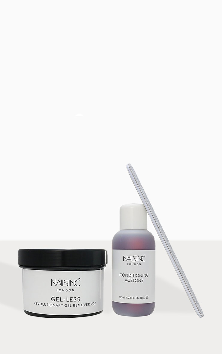 Nails Inc Gel-less Speedy Gel Manicure Remover Kit 2
