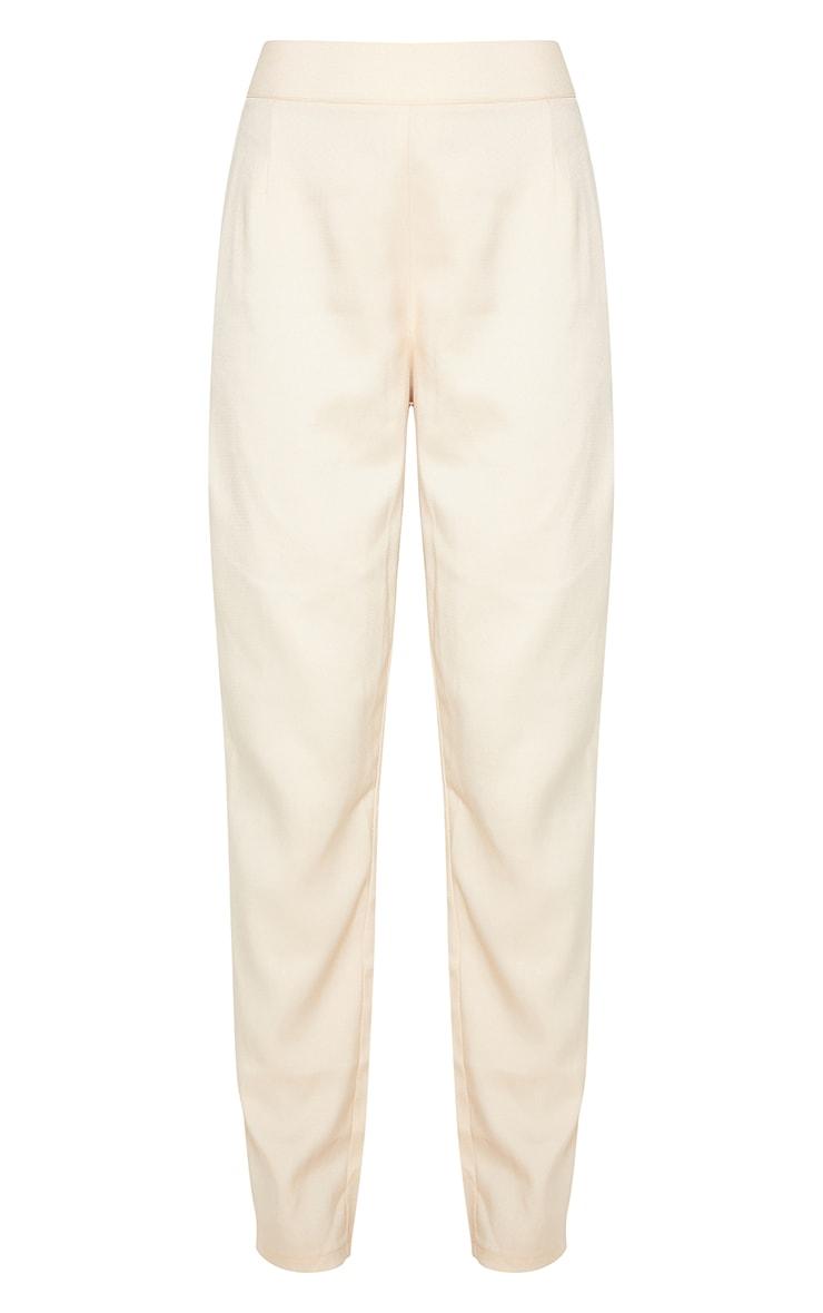 Stone Woven Straight Leg Pants 3