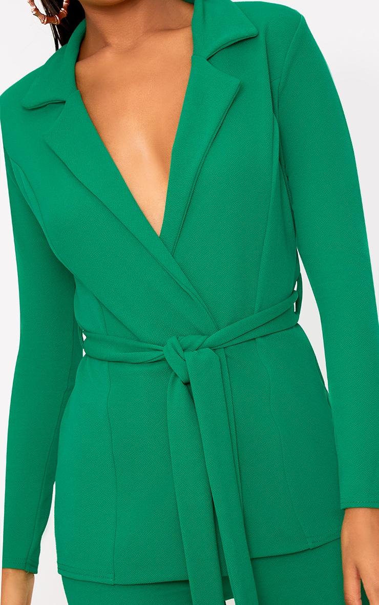 Green Belted Blazer 5