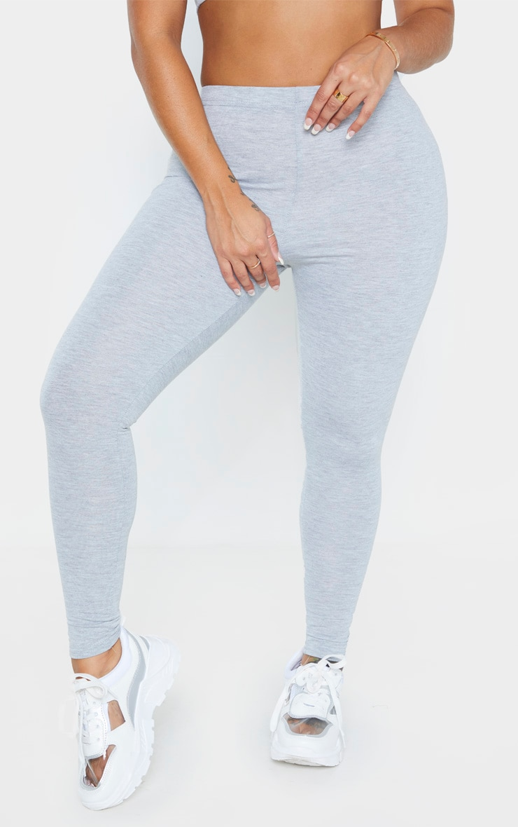 Shape Grey Marl Jersey Leggings 2