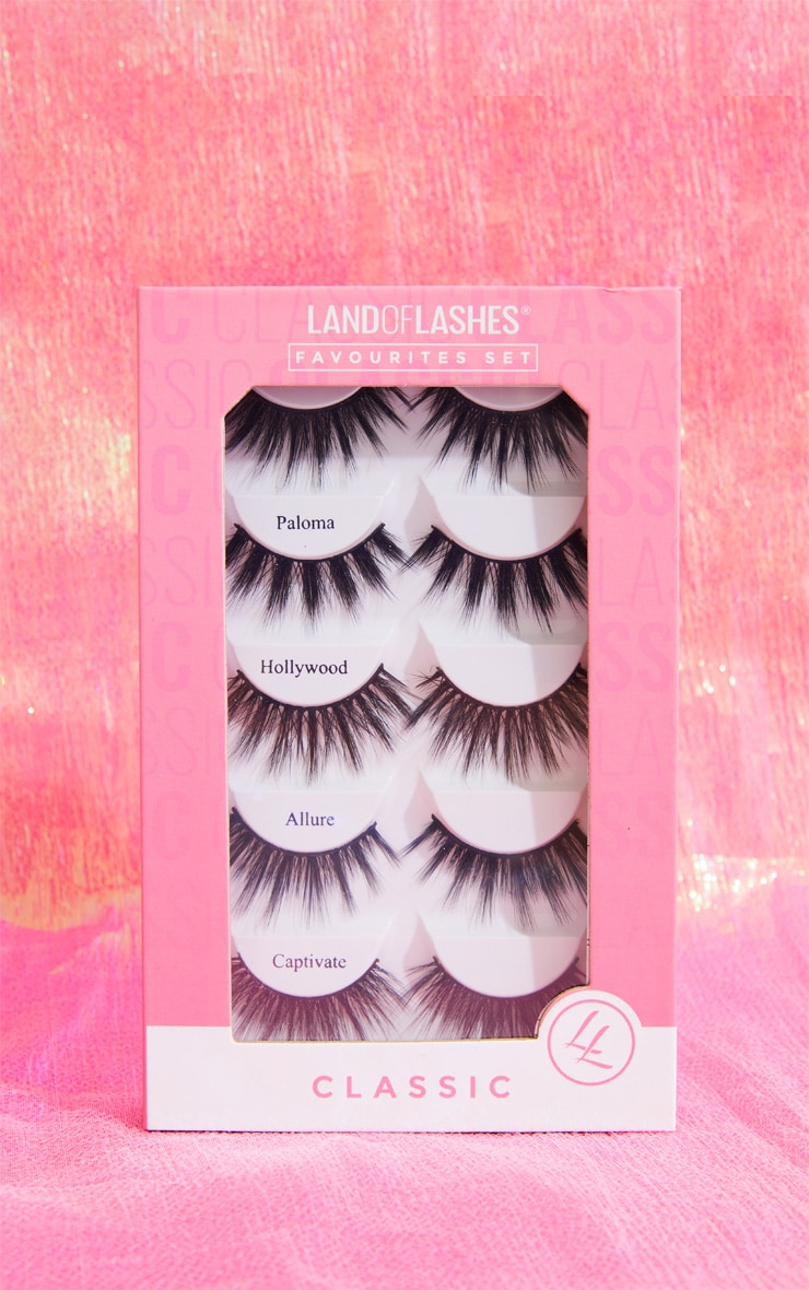 Land Of Lashes The Favourites Faux Mink Gift Set 1