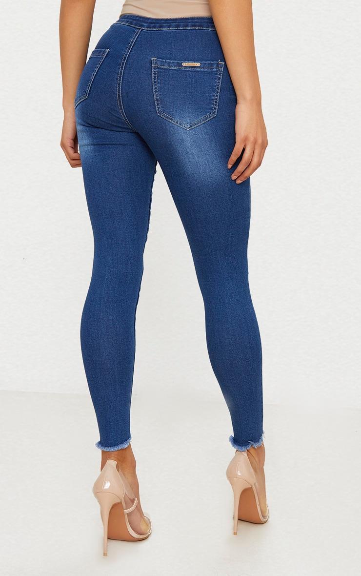 Mid Wash Skinny Jean  4