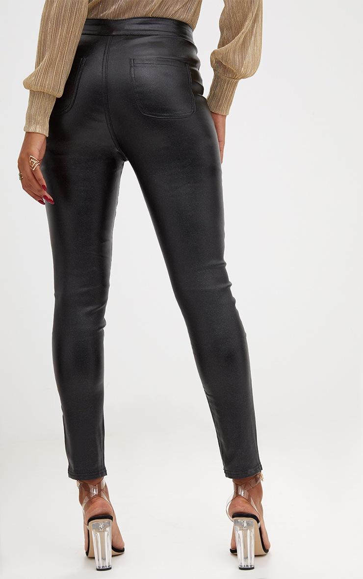 Black Glitter Disco Jean  4
