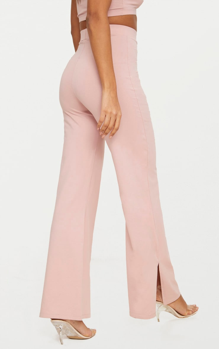 Rose Second Skin Flared Trousers 3