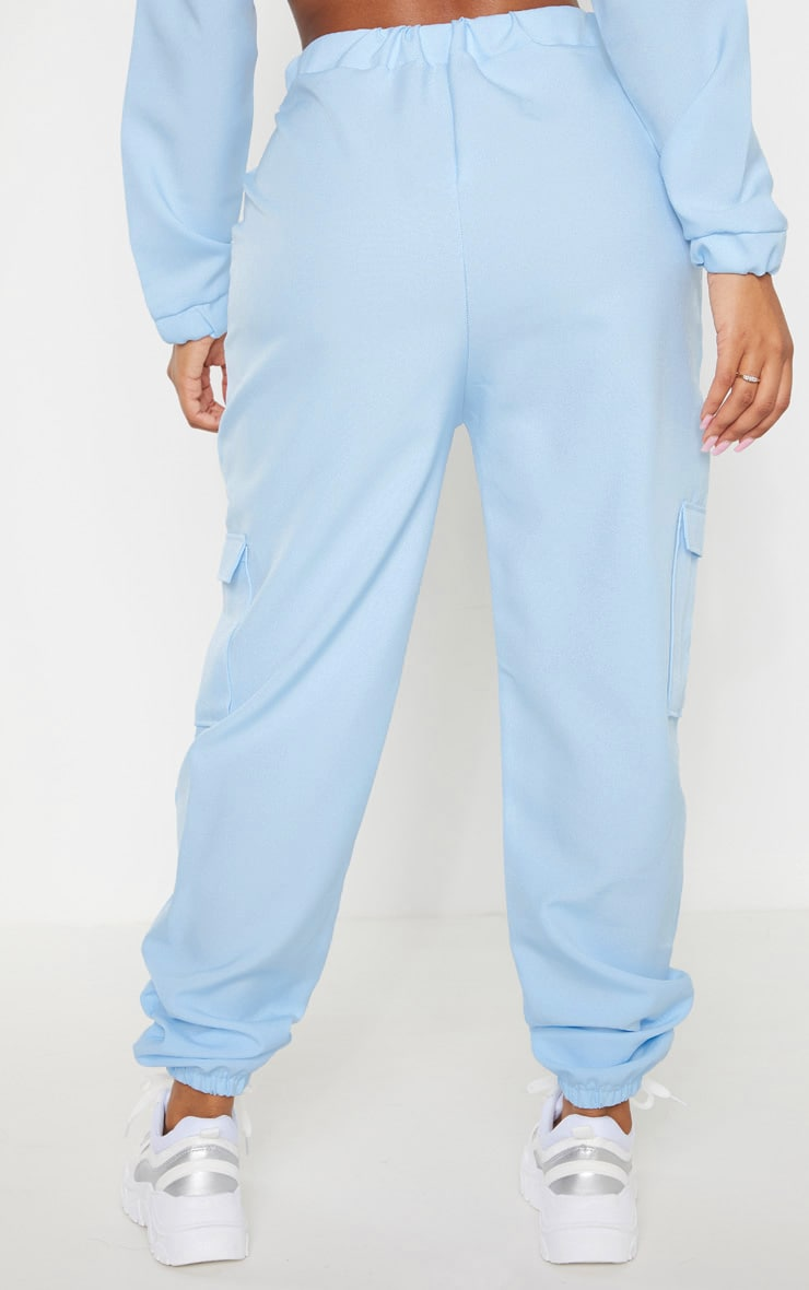 Shape Dusty Blue Utility Track Pants 4