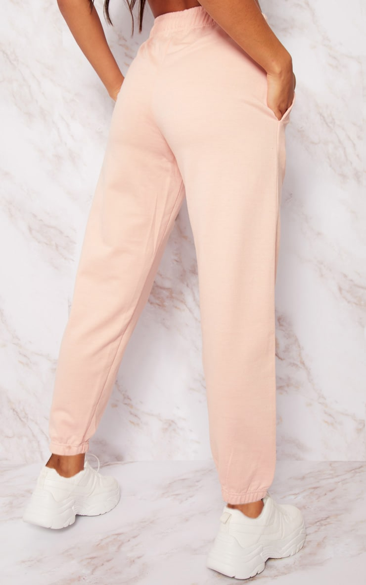 Dusty Pink Casual Joggers 4
