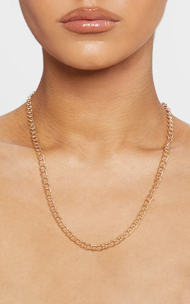 Gold Chain Necklace 2
