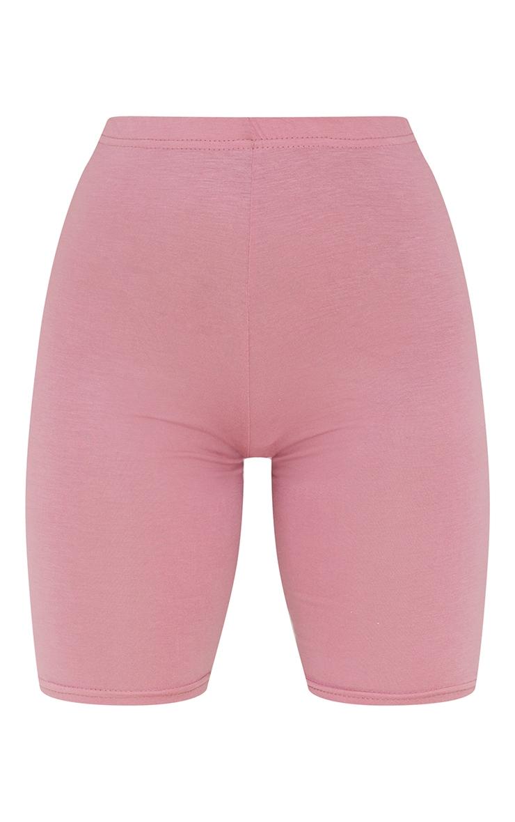 Dusty Rose Basic Bike Shorts 6