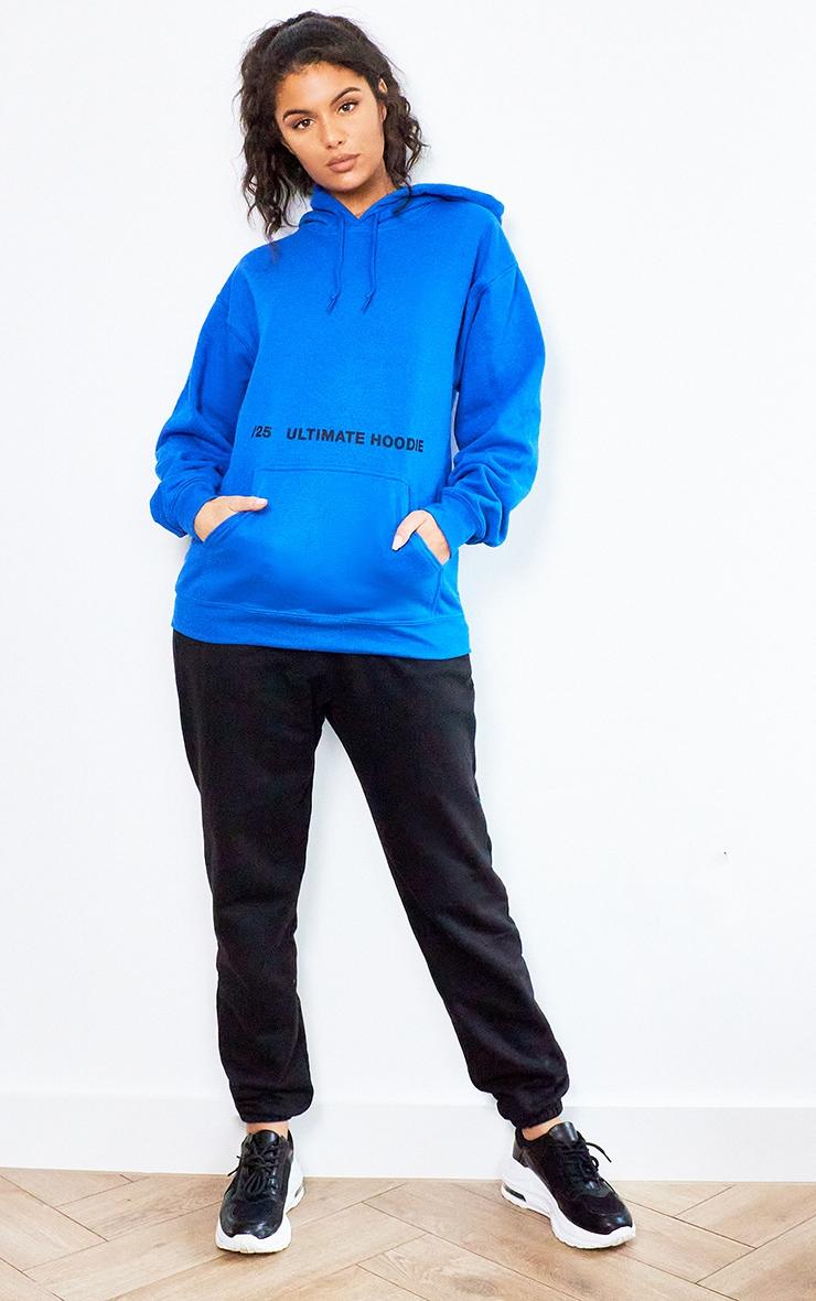 Royal Blue Ultimate Slogan Hoodie 3
