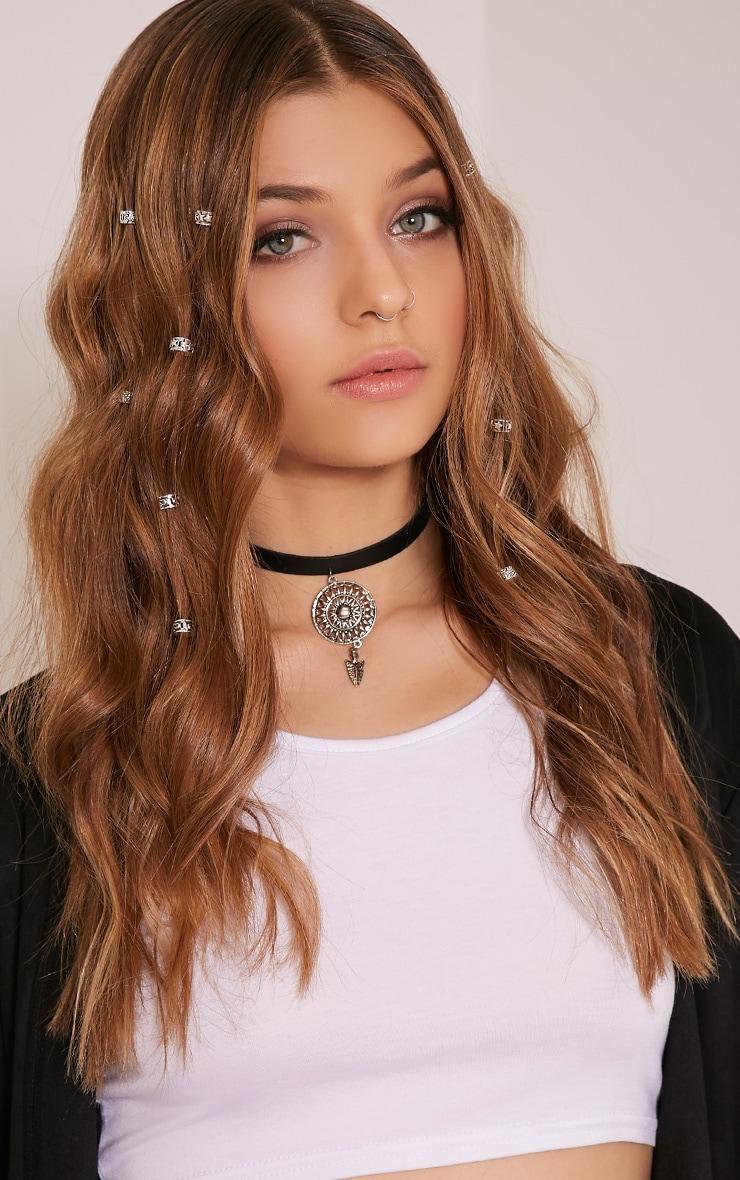 Pria Silver Hair Beads 3