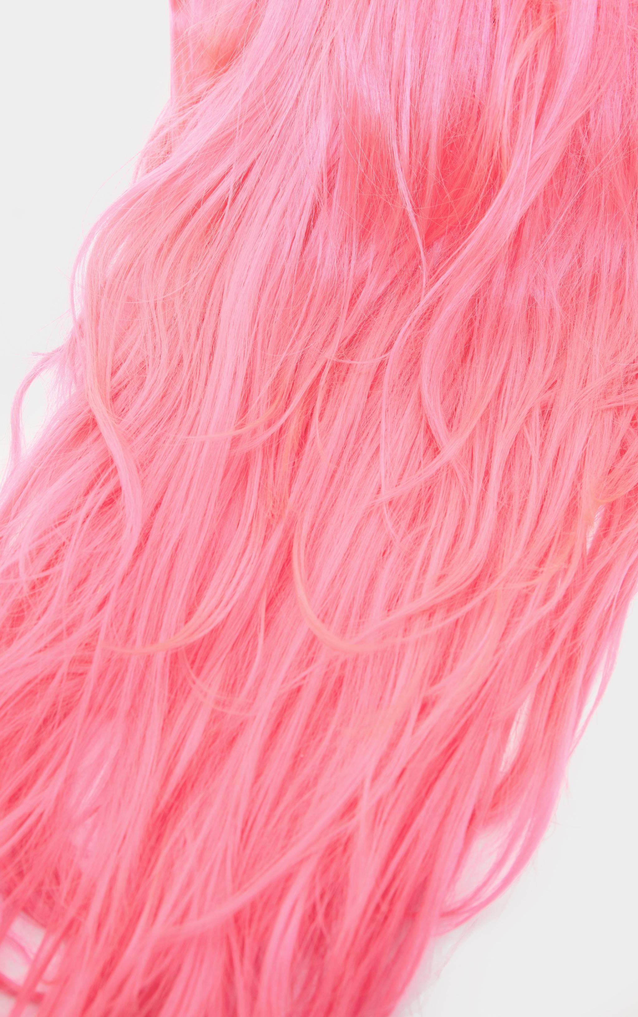 Baby Pink Premium Long Wig 3