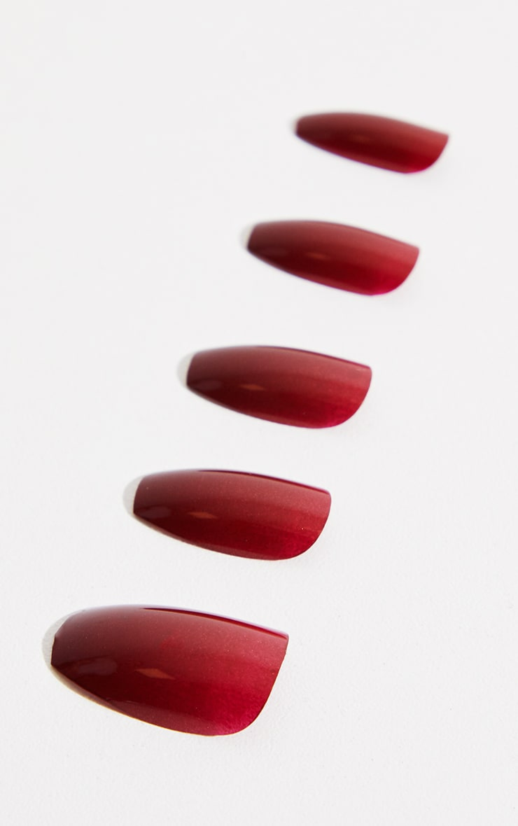 Elegant Touch Red Steel The Night Coffin Nails 2