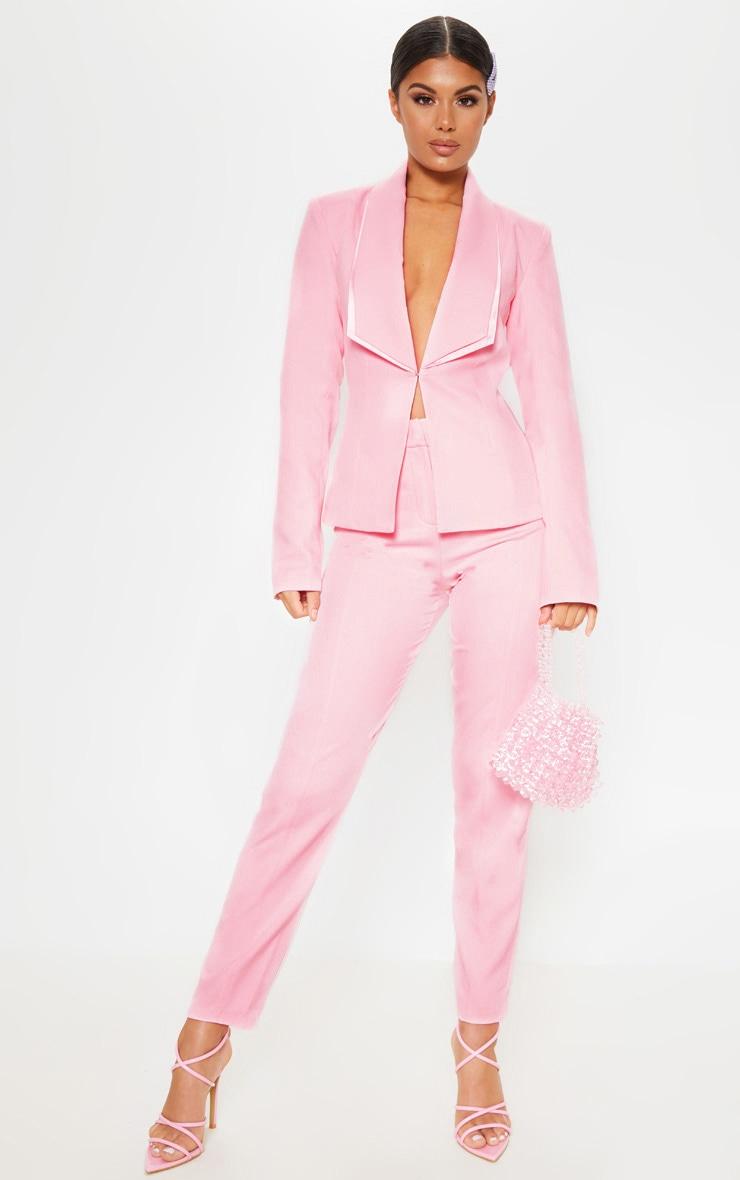 Avani Pink Suit Jacket 4