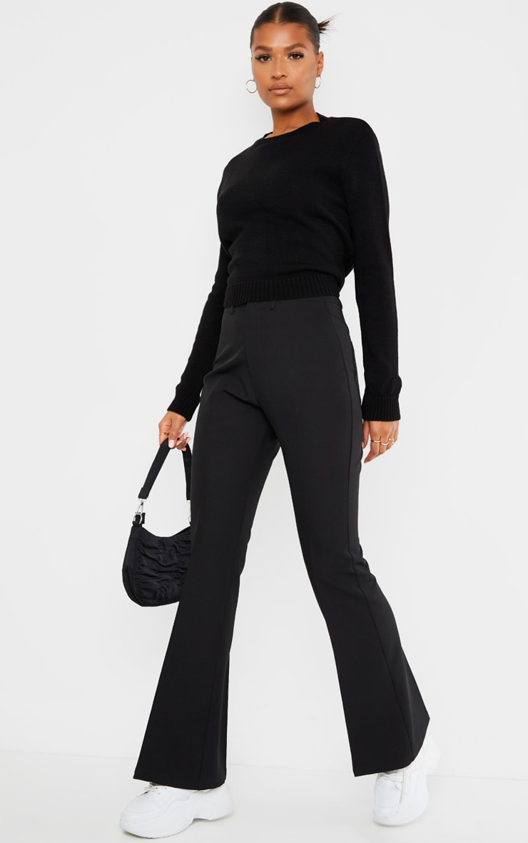 Black Tie Back Knitted Jumper 3