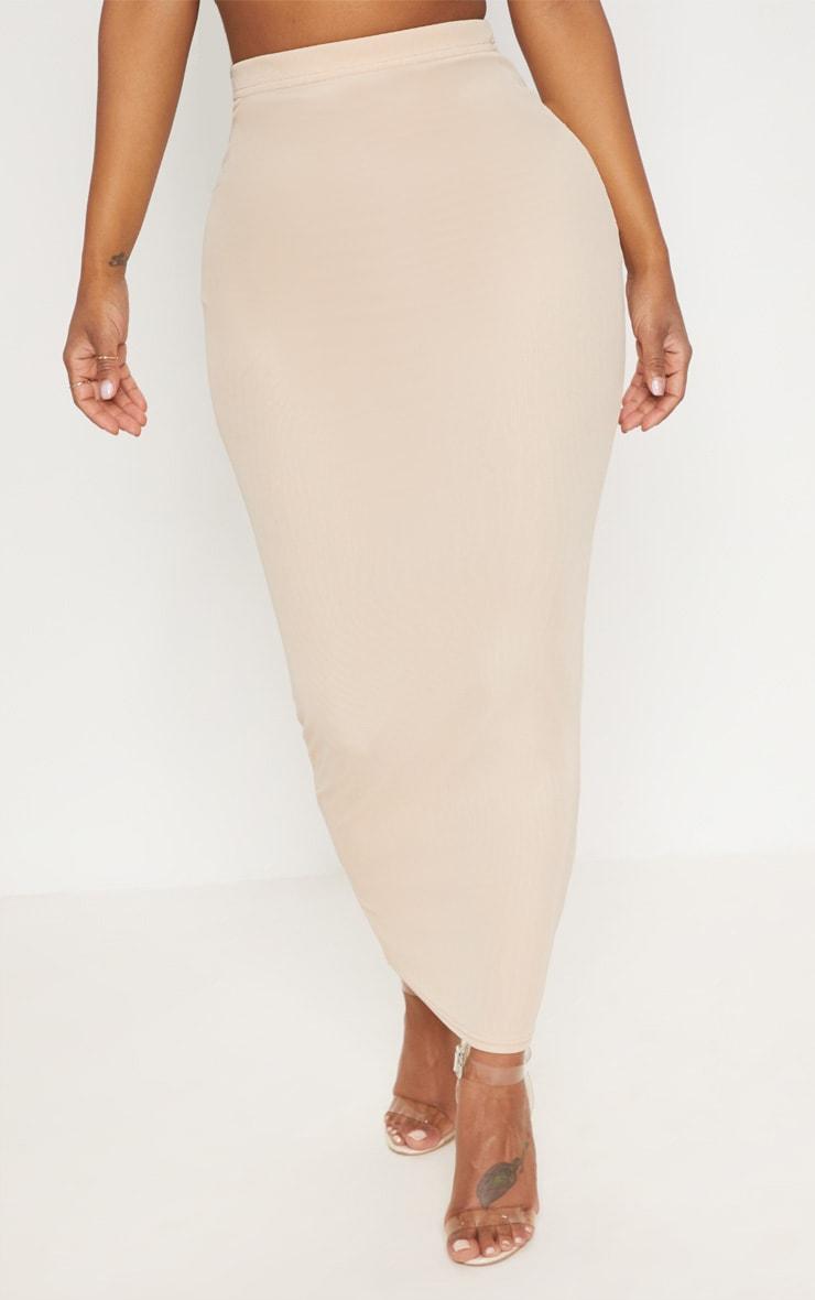 Shape Nude Mesh Midaxi Skirt 2