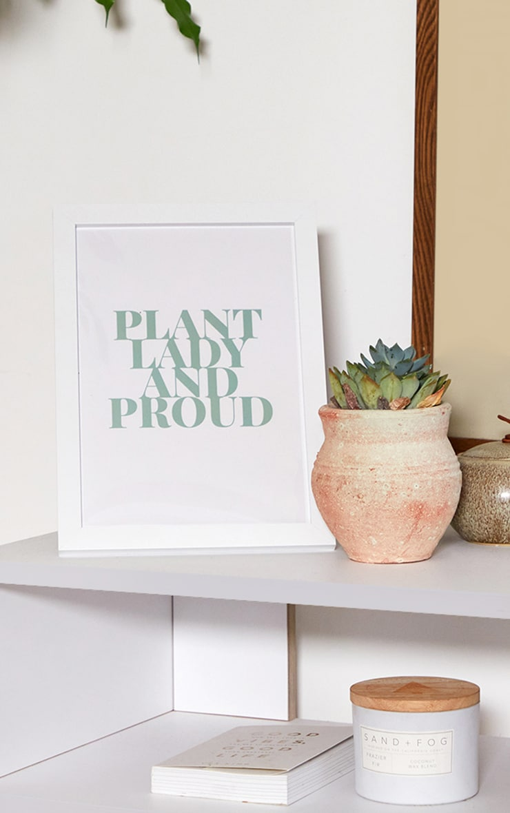 Plant Lady A4 Recycled Peechy Print 1