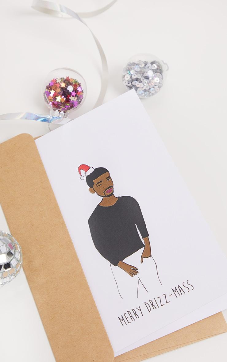 NOCTURNAL PAPER Drake Xmas Card 1