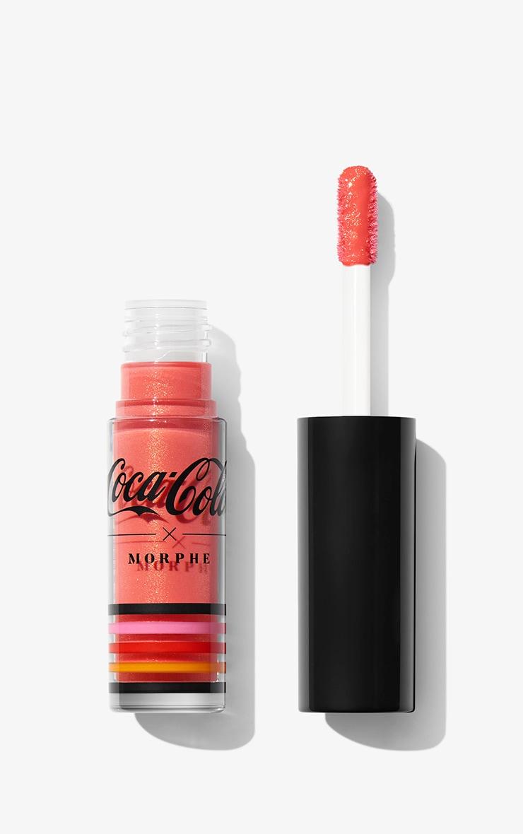 Coca Cola x Morphe - Lot de 4 mini-gloss brillants Lip in Harmony 6