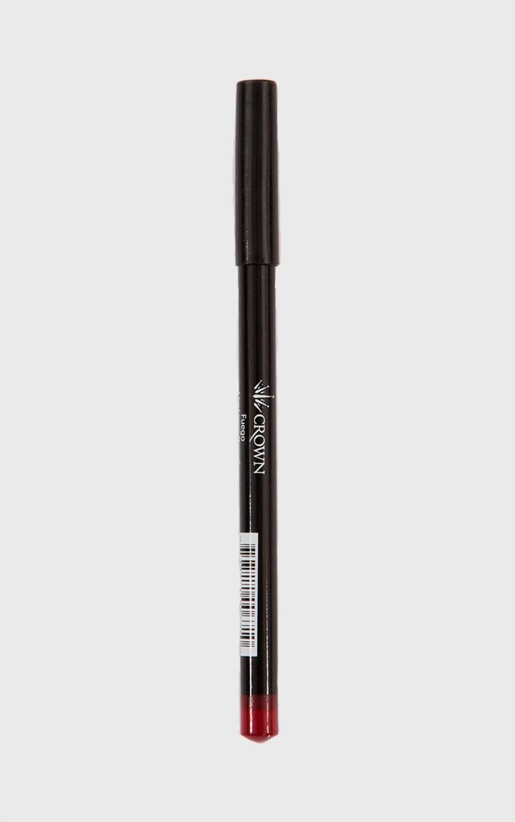 Crown Fuego Lip Pencil 2