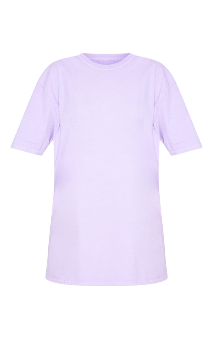 Ultimate Lilac Oversized T Shirt 3