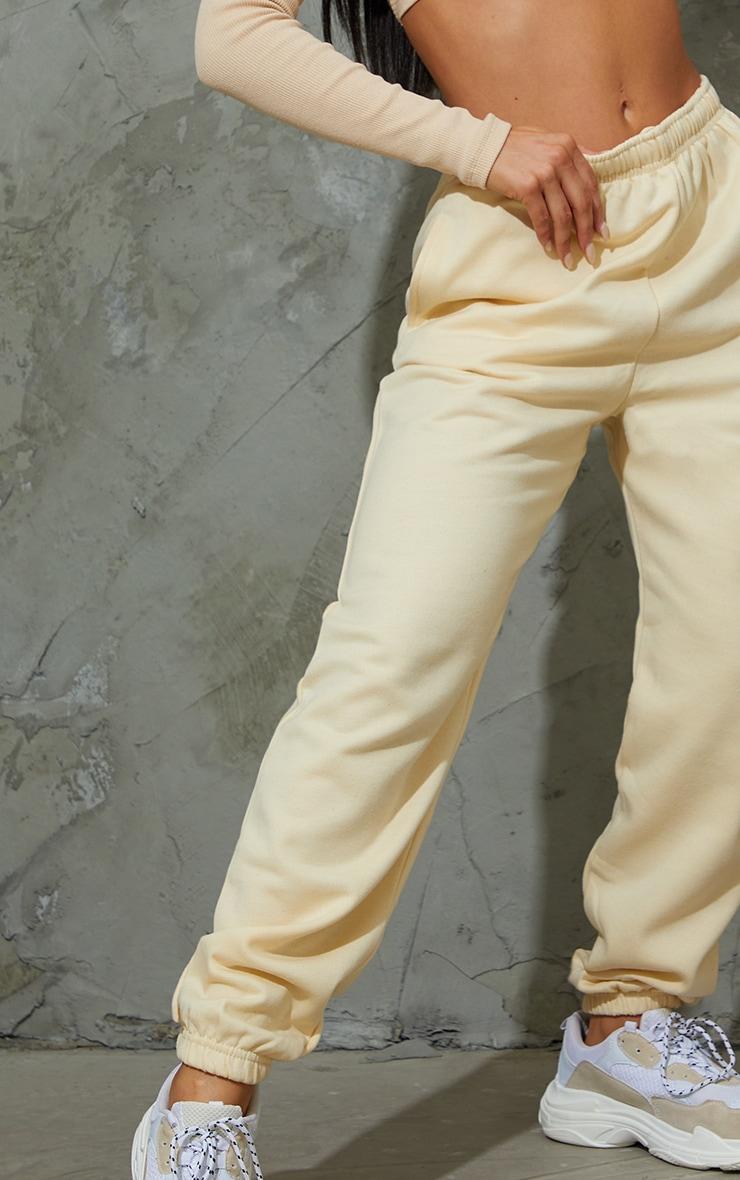 Cream Sweat Pant Joggers 4