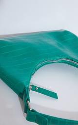 Green Croc Mini Shoulder Bag 4