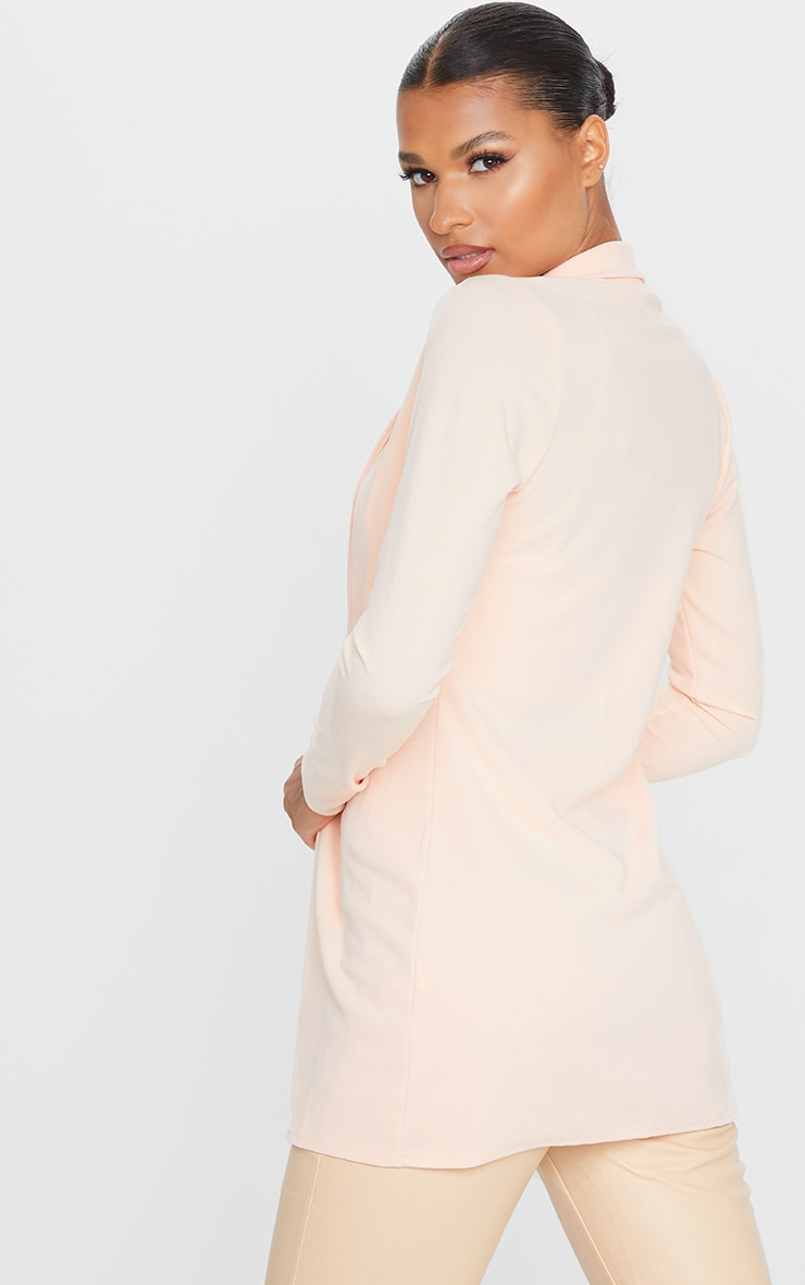 Blazer long nude 2