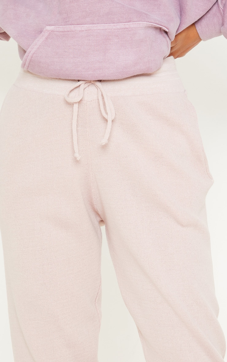 Blush Knitted Jogger 5