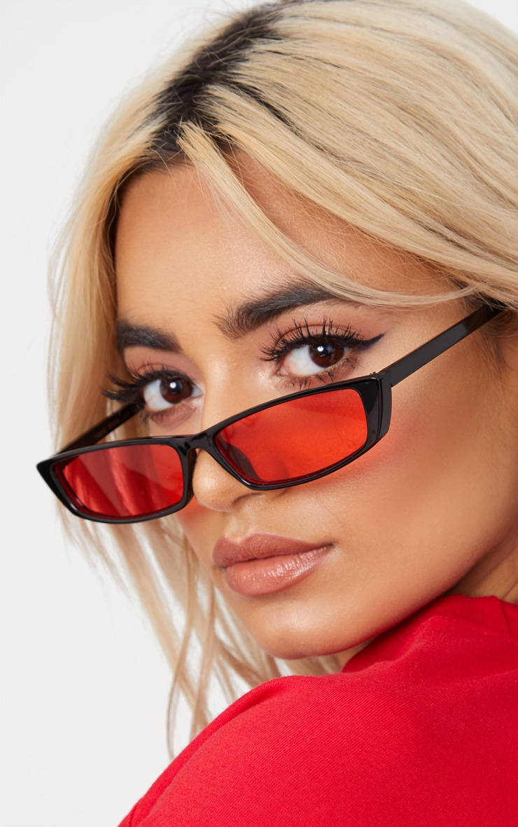Red Lens Racer Sunglasses 2