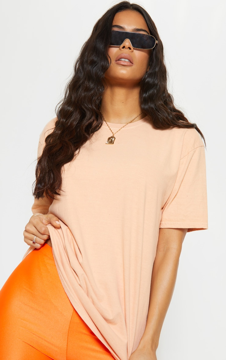 Ultimate Peach Oversized T Shirt 5