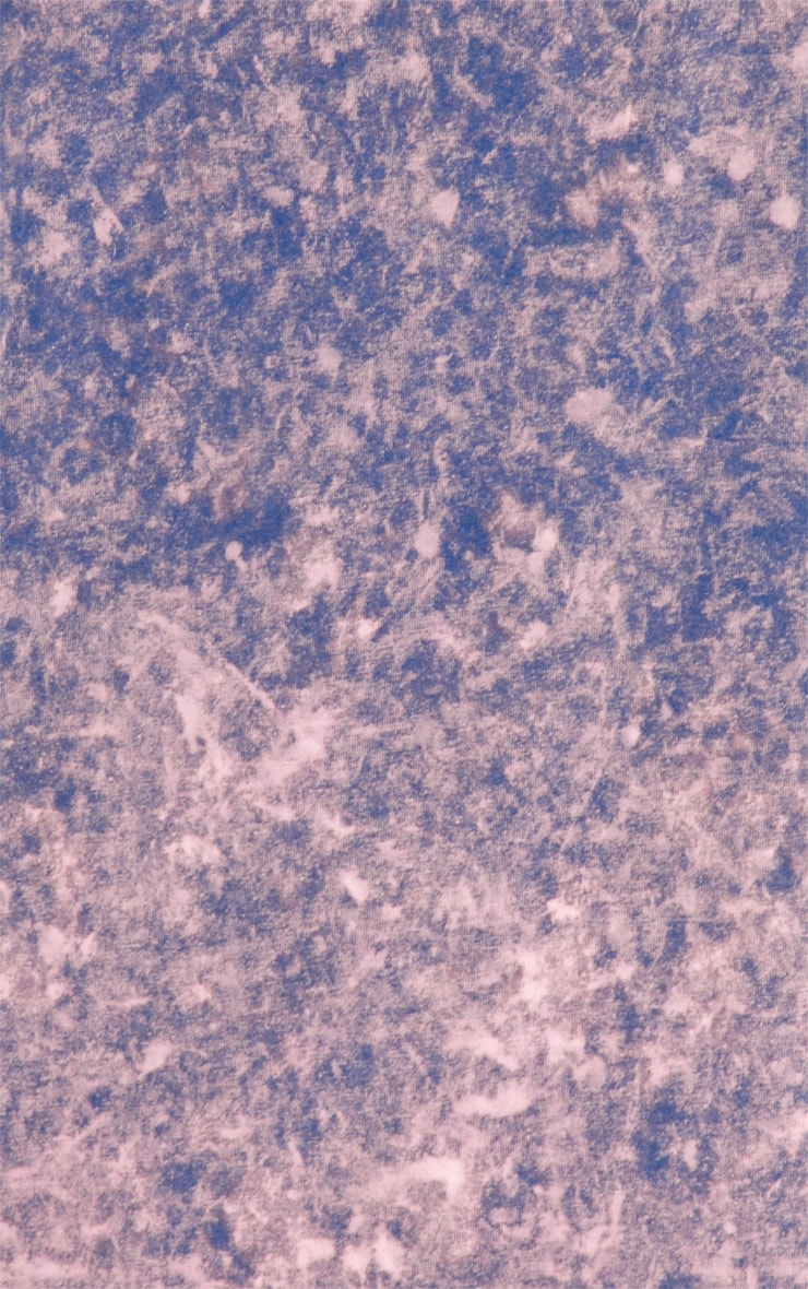 Anya Purple Acid Wash Oversize Tee 5