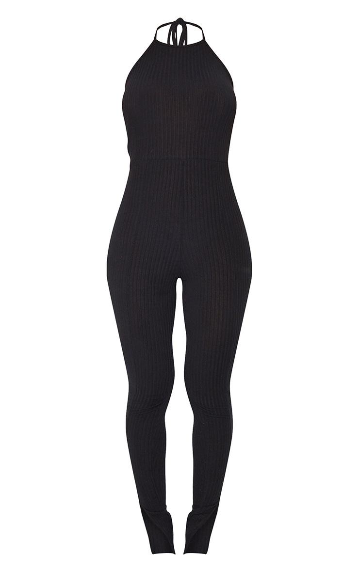 Black Halterneck Jumpsuit 5