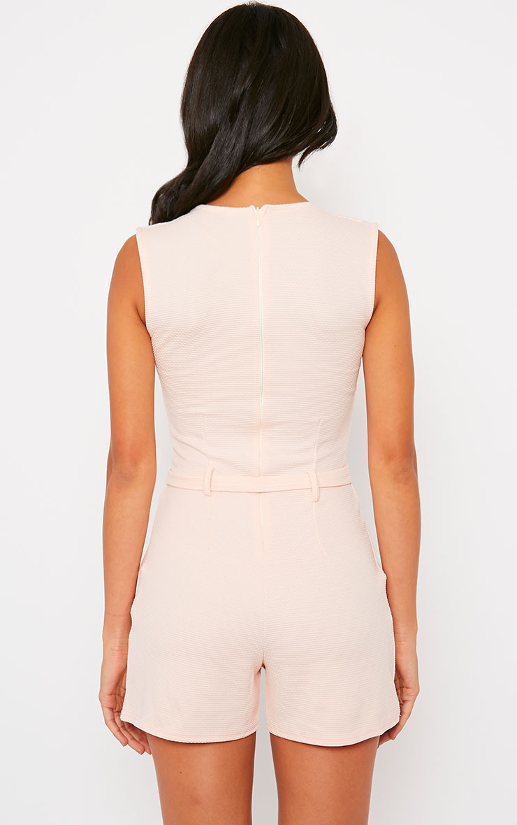 Evie Nude D-Ring Playsuit 2