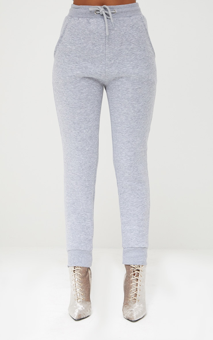 Bruna Grey Marl Sweat Joggers 2