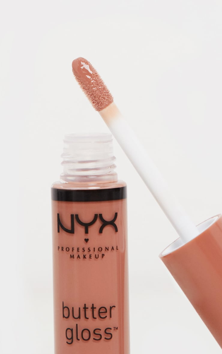 NYX Professional Makeup Butter Gloss Madeleine 3