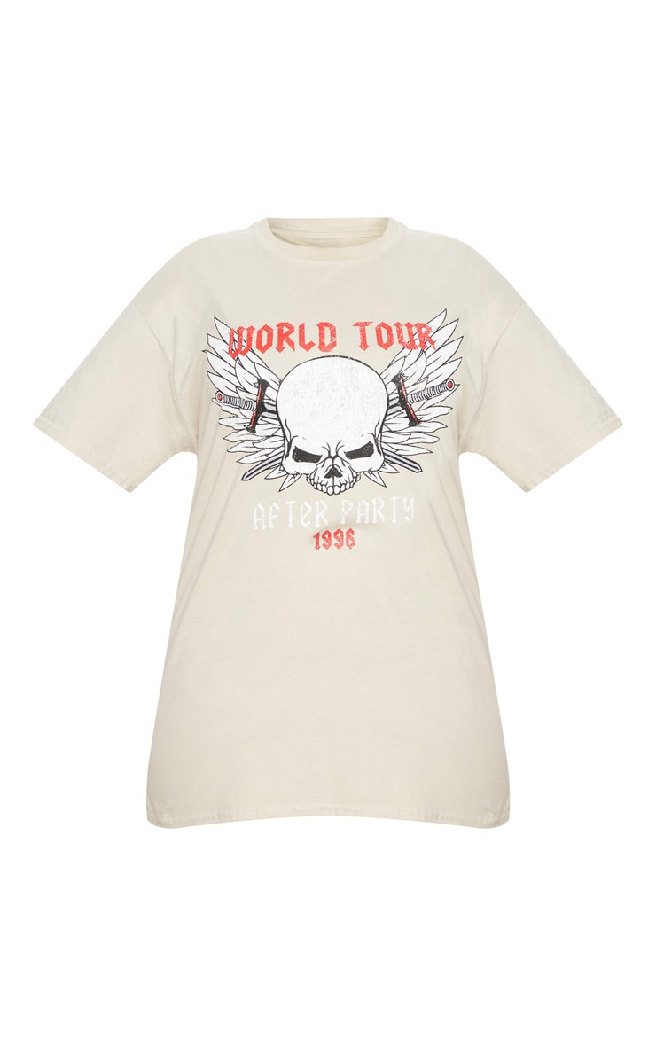 Plus Stone World Tour Oversized T-Shirt 3