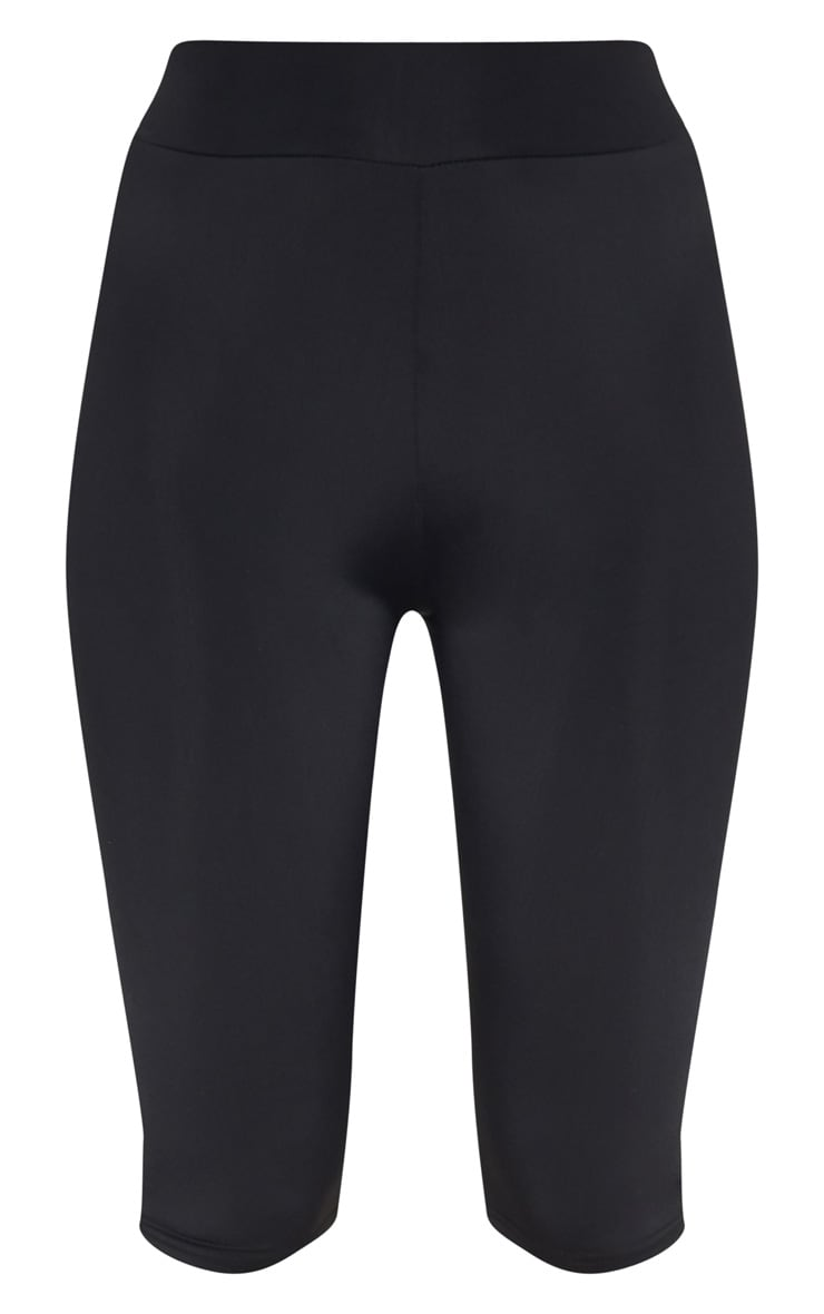 Black Basic 3/4 Gym Legging 3